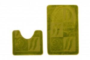 Dywan (BANAN)  1107 GREEN (4604) MONO 2PC