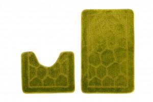 Dywan (BRUK)  1147 GREEN (4604) MONO 2PC