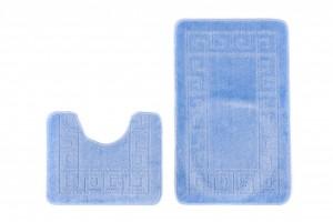 Dywan (GRECKI)  1030 BLUE (5004) MONO 2PC
