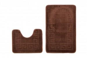 Dywan (GRECKI)  1030 BROWN (8121) MONO 2PC