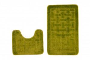Dywan (KRATKA)  1039 GREEN (4604) MONO 2PC