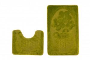 Dywan (MOTYL)  1125 GREEN (4604) MONO 2PC