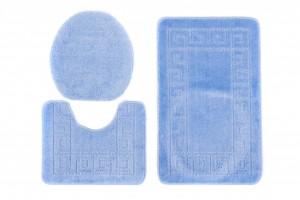 Dywan (GRECKI)  1030 BLUE (5004) MONO 3PC