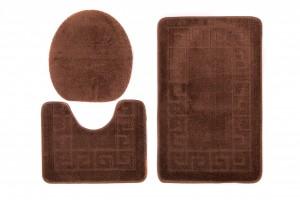 Dywan (GRECKI)  1030 BROWN (8121) MONO 3PC