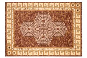 Dywan tradycyjny ATENA FH12A WZORY ORIENTALNE DO SALONU  brązowy