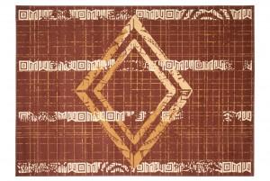 Dywan tradycyjny ATENA FM35A WZORY ORIENTALNE DO SALONU  brązowy