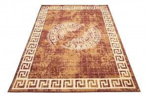 Dywan tradycyjny ATENA FE28A WZORY ORIENTALNE DO SALONU  brązowy