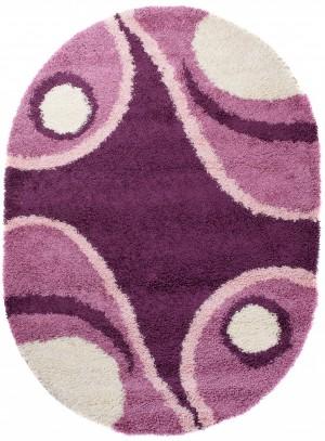 Dywan LOCA  7635A DARK PURPLE OV  dywany promocja