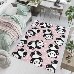 Dywan dziecięcy PINKY Pandy różowy
