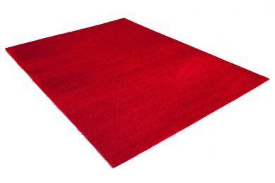 Dywan shaggy GENTLE PLA05 M18 33 czerwony