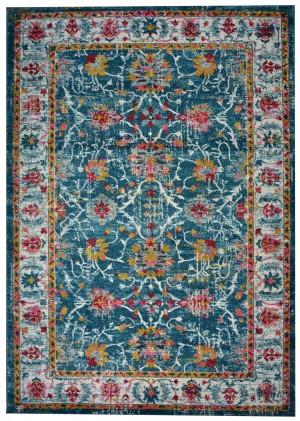 BLUE  FLORES N469A DARK