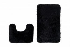 Dywan łazienkowy SILK ARTS-61 2PC czarny