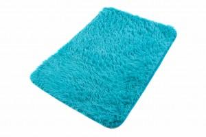 Dywaniki łazienkowe 1PC  SILK BLUE ARTS-61