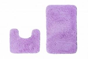 Dywan łazienkowy SILK ARTS-61 2PC lilac