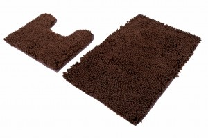 Dywan 2PC  CHENILLE COFFEE MSE-52
