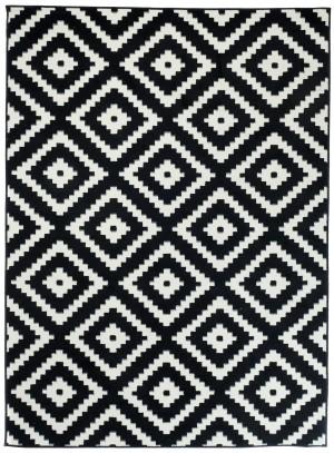 L885D BLACK LUXURY PP CRM  dywany promocja