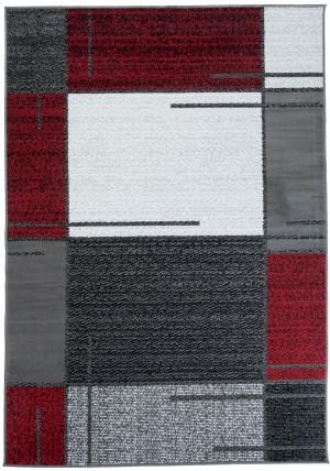 Dywan FIRE  10223 DARK GREY RED  dywany promocja