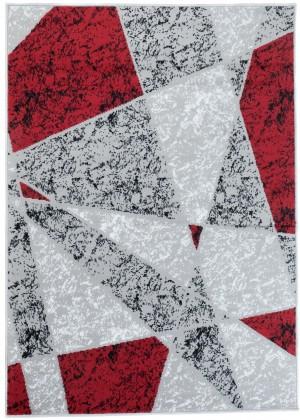Dywan FIRE  10216 LIGHT GREY RED  dywany promocja