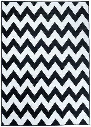 Dywan FIRE  10229 BLACK WHITE  dywany promocja