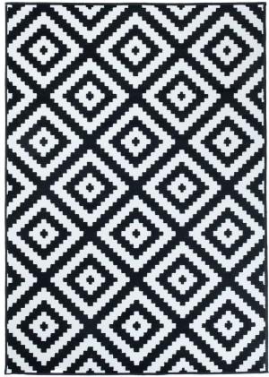 Dywan FIRE  10226 BLACK WHITE  dywany promocja