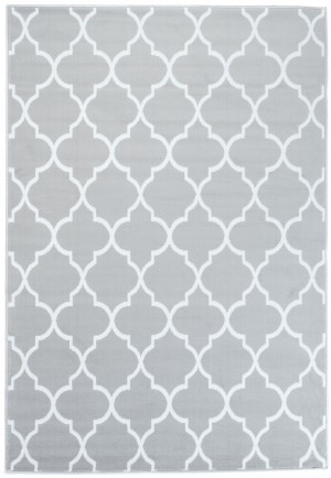 Dywan FIRE  10209 LIGHT GREY WHITE  dywany promocja