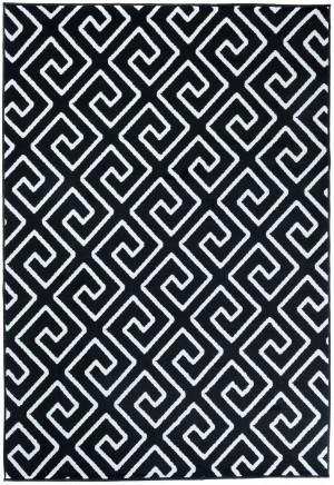 Dywan FIRE  10207 BLACK WHITE  dywany promocja