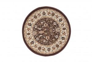 Dywan tradycyjny 3795 SCARLET KOŁO brązowy