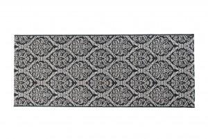 Dywan sznurkowy 20304 / Silver czarny