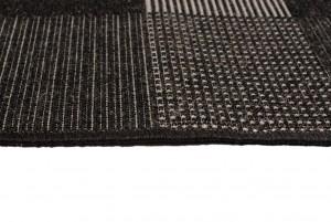 Dywan sznurkowy 20203 / Silver czarny