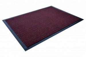 Wycieraczka PVC  HORIZON 2 Red CM - border 3cm