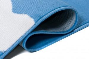 Dywan dziecięcy T631A PINKY EWL niebieski