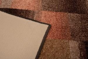 Chodnik nowoczesny 48 IKAT (COPPER) - brązowy