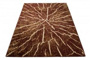 Dywan nowoczesny Q710B LUXURY PP BGX brązowy