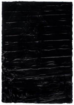 RABBIT FUR 1,20*1,70 BLACK
