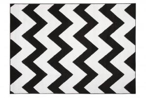 Dywan nowoczesny BALI PP C437A BLACK biały