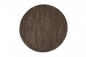 Dywan nowoczesny T006A SARI KOŁO 3UX brązowy
