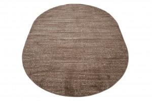 Dywan nowoczesny T006A SARI OV 3UX jasno-brązowy