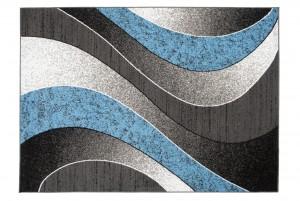 Dywan nowoczesny K857G CHEAP PP EYM niebieski