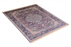 Dywan tradycyjny Isphahan 84332/51 WZORY ORIENTALNE DO SALONU niebieski