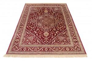 Dywan tradycyjny Isphahan 84412/43 WZORY ORIENTALNE DO SALONU ŁADNY czerwony