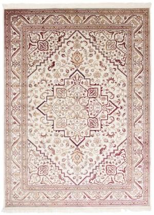 Dywan Ivory/Red  Isphahan 84412/56