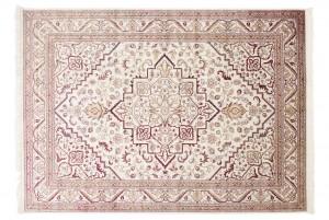 Dywan tradycyjny Isphahan 84412/56 WZORY ORIENTALNE DO SALONU kremowy