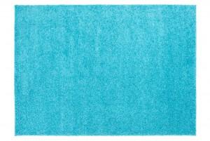 Dywan shaggy TOKYO 6365A DO SALONU ŁADNY MODNY GŁADKI niebieski