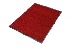 Wycieraczka materiałowa Memphis 15 CM - border 1,5 cm czerwony