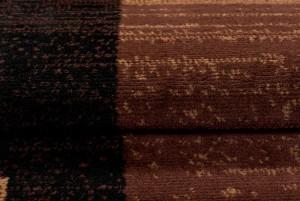 Dywan tradycyjny 3881 BLACK/ SCARLET brązowy