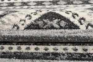 Dywan nowoczesny Z552A ETHNO B1X czarny