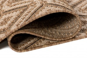 Dywan sznurkowy T710A NATURE EAI brązowy