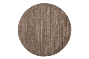 Dywan nowoczesny T006A SARI KOŁO 3UX jasno-brązowy