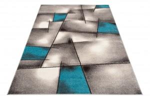 Dywan nowoczesny FIESTA 36201/37125 Do Salonu Wzory Geometryczne  szary