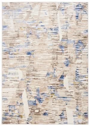Dywan ASTHANE  D698M WHITE/DARK BLUE